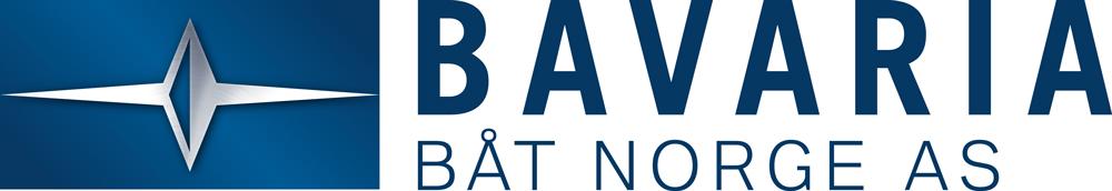 Bavaria Båt Norge logo i blått