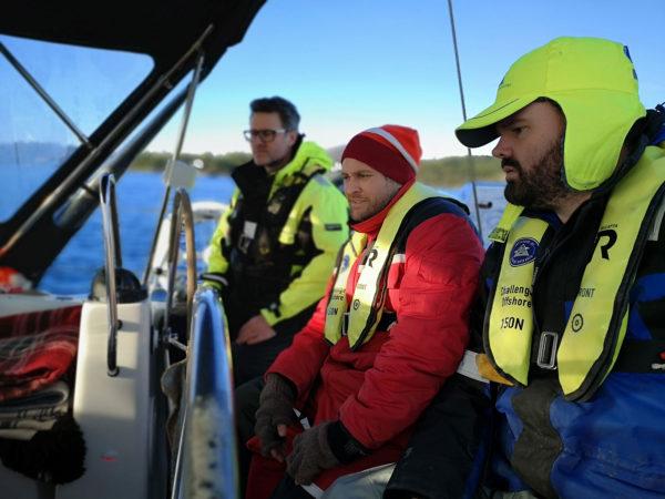 Praktisk utsjekk med Havforskningsinstituttet